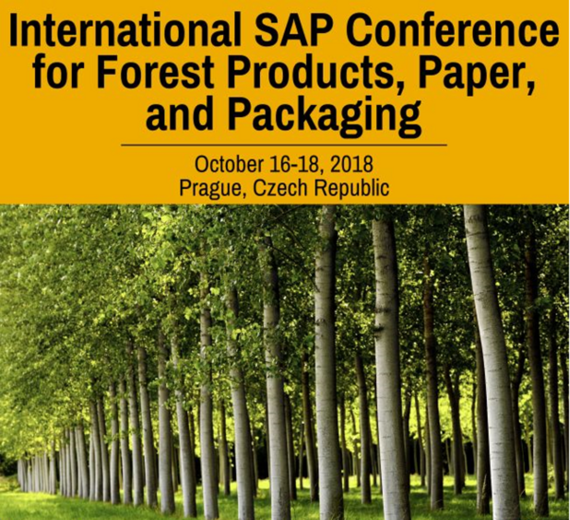 International SAP Conference for Forest Products, Paper and Packaging