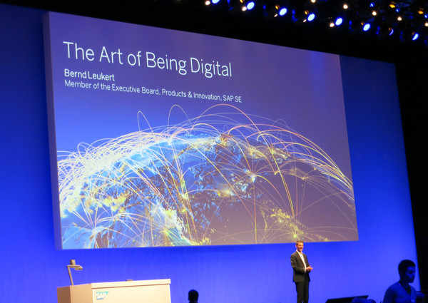 """The Art of Being Digital"" - Bernd Leukert auf der TechEd-Keynote"
